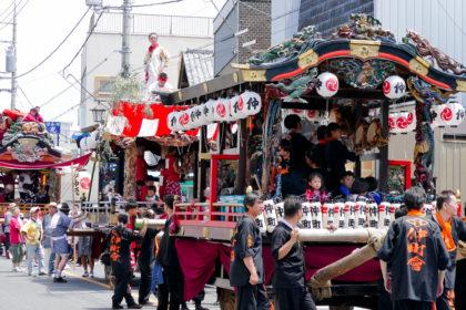 鷲宮八坂祭2019(天王様)